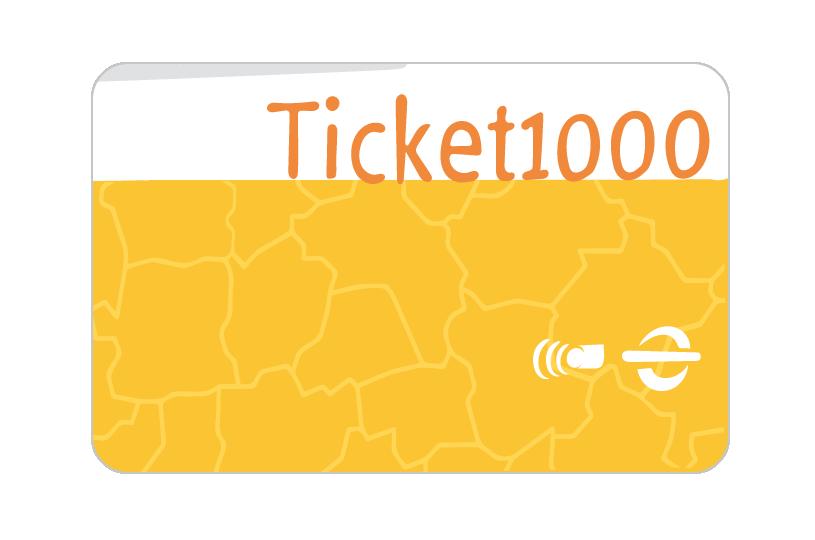 Grafik, dekorativ, Abbildung Ticket1000