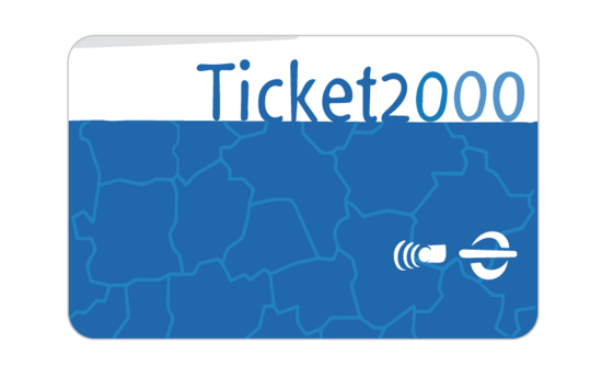 Grafik, dekorativ, Abbildung Ticket2000