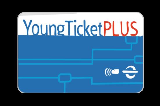 Grafik, dekorativ, Abbildung YoungTicketPLUS