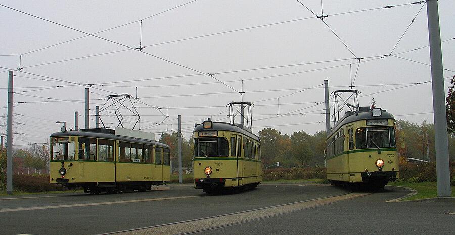 Foto: Historische Straßenbahnen der Verkehrshistorischen Arbeitsgemeinschaft BOGESTRA e.V.